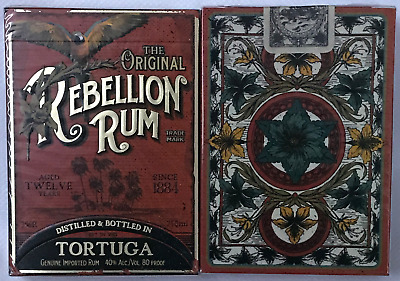 1 Deck Prohibition Rebellion Rum Playing Cards~Ellusionist~Free Shipping