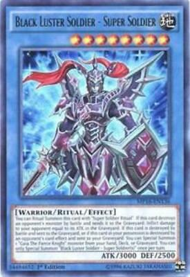 Yugioh Black Luster Soldier - Super Soldier MP16-EN136 1st Edition NM