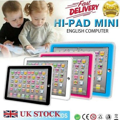 Baby Tablet Educational Toys For 1 2 Year Old Toddler Girls Toy Learning English