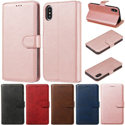 Slim Wallet Leather Flip Case Cover For iPhone 11 Pro Max 11 XR XS 5S 6 7 8 Plus