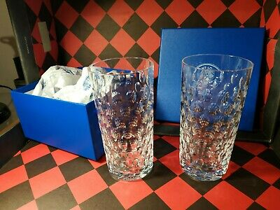 2 chopes Cleopatres en verre - Saint-Louis France - Hermes 2011
