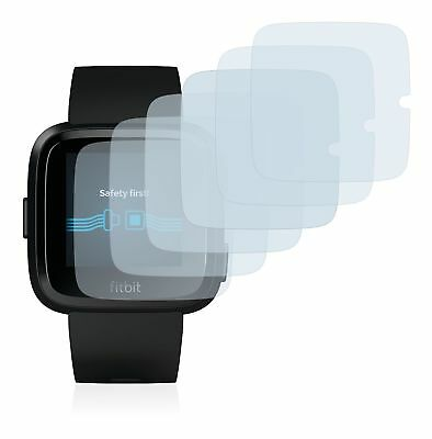 Fitbit Versa Special Edition Watch , 6x Transparent ULTRA Clear Screen Protector