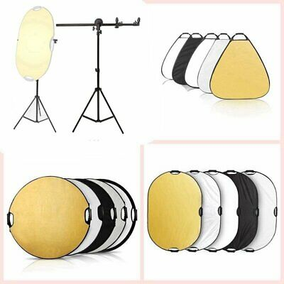 Selens 5-in-1 Portable Handle Reflector Panel Pro Photography Outdoor Lighting