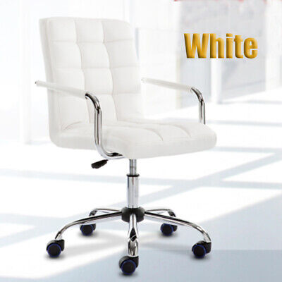 Business Executive Computer Office Desk Chair PU Leather Swivel Chairs High Back