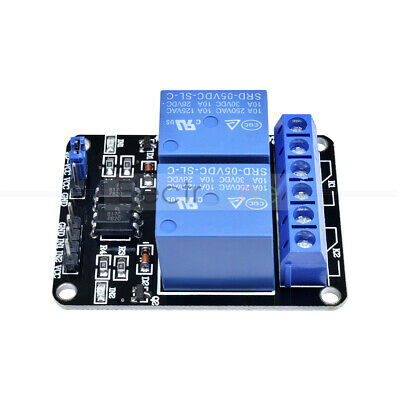 5V Two 2 CH 2 Channel Relay Module With optocoupler For Arduino PIC AVR DSP ARM
