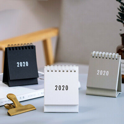 2020 Calendar Small Desk Calendar Double Daily Table Planner Annual Organizer