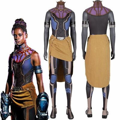 Ladies Shuri Costume AVENGERS ENDGAME Adult Fancy Dress Outfit Halloween Newest