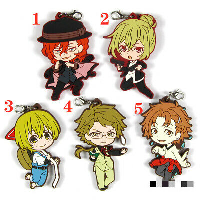 Anime Code Geass Rubber keychain Key Ring Race Straps cosplay