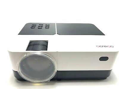 GEARGO Projector Supports Full HD Video 1080P 185'' Display and 2800 Lumens