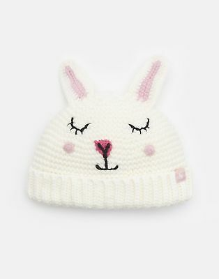 Joules Baby Chummy Character Hat in PINK BUNNY