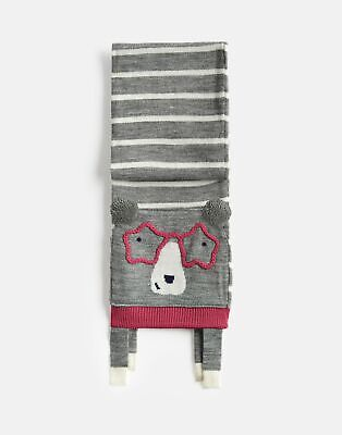 Joules Girls Chummy Character Scarf in BEAR in One Size