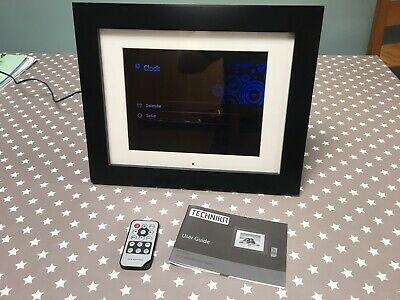 """Technika Advanced 10"""" Digital Picture Frame. Boxed, Fully Working. Inc 1Gb SD"""