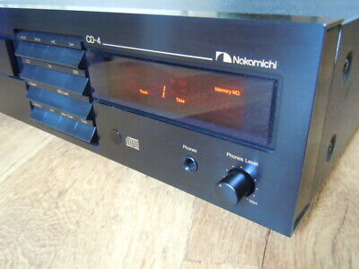 Nakamichi CD-4 CD Player with Remote Control Unit <Near Mint>