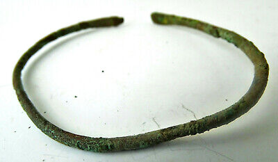 Ancient Roman Bronze bracelet GF