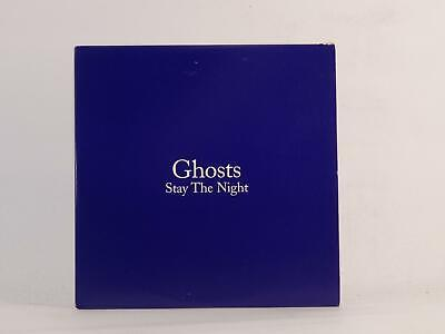 GHOSTS, STAY THE NIGHT, 465, EX/EX, 1 Track, Promo CD Single, Card Sleeve, ATLAN