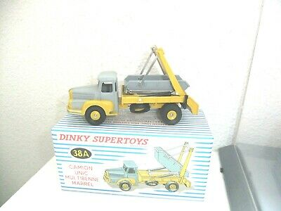 Dinky Toys Atlas Camion Unic Multibenne Marrel N° 34C