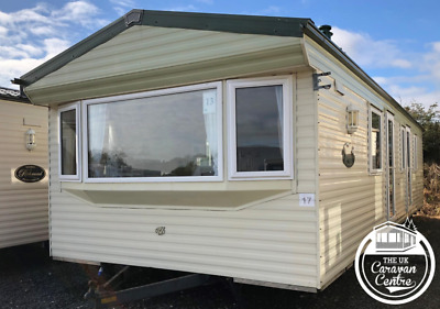 WILLERBY VACATION 35x12 2 bed STATIC CARAVAN off site MOBILE HOME double glazing