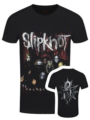 Slipknot T-shirt We Are Not Your Kind Group Photo Men's Black