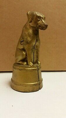 Great, Original, A C Williams Cast Iron Dog on Tub coin bank c.1920's  - 1930's