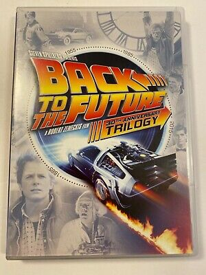 Back to the Future: 30th Anniversary Trilogy Anniversary Edition (2015, DVD)