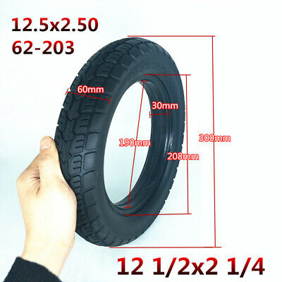 Electric Scooter Solid Tubeless Tire Tyre Explosion For E-bike Wheel Replacement