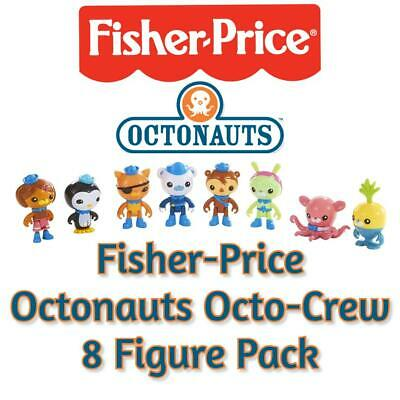 Fisher-Price Octonauts Octo-Crew 8 Figure Pack - Authentic, NEW and BOXED