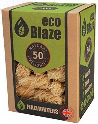 Eco Blaze EBFL Natural Firelighters 50