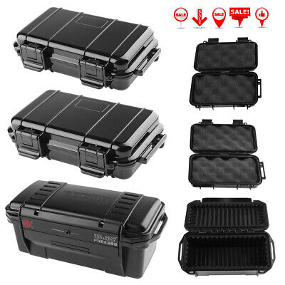 Outdoor Shockproof Sealed Waterproof Safety Case Plastic Tool Dry Box Kit Holder