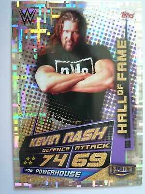 Topps Wwe Slam Attax Universe Hall Of Fame Kevin Nash Card Comb Post
