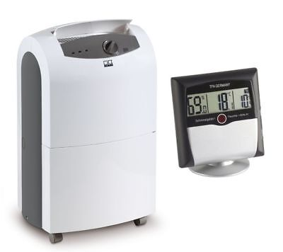 Remko Etf 320 Luftentfeuchte Fan + Comfort Control Thermo-Hygrometer with Alarm