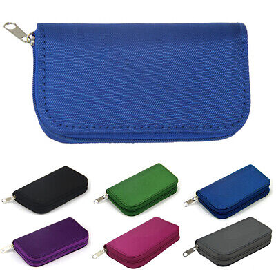 22 Slots SD MicroSD Memory Card Case Holder Hard Storage Bag Wallet Anti-Shock