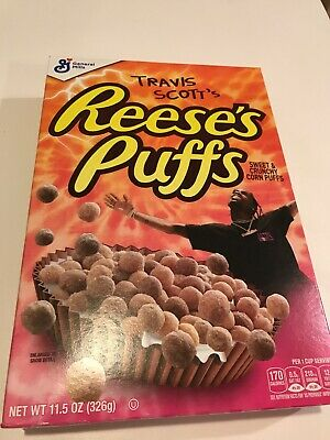 Brand New Travis Scott X Reese's Puffs Limited Edition Cereal