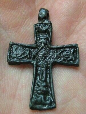 Scandinavian type  Ancient Viking cross pendant 9th-12th century 100% original
