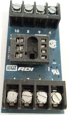 New – 4 Pieces RDI 202BS Relay Socket - Track Mount