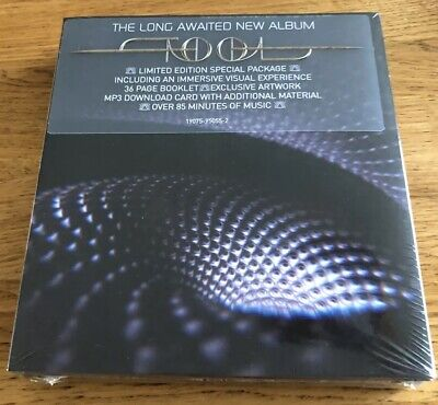 TOOL - Fear Inoculum - Limited Edition Audio CD - In Hand Ready to Dispatch