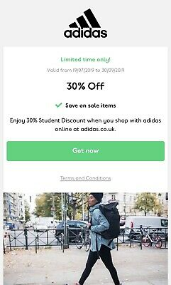 ADIDAS 30% OFF VALID DISCOUNT CODE (inc sale Items) *INSTANT DELIVERY* - UK ONLY