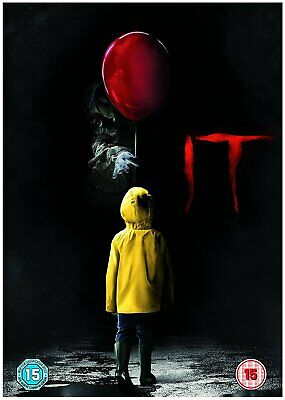 It-Chapter 1-2017-Mint-Dvd-Drama-Horror-With Ultraviolet-Glossy Slipsleeve