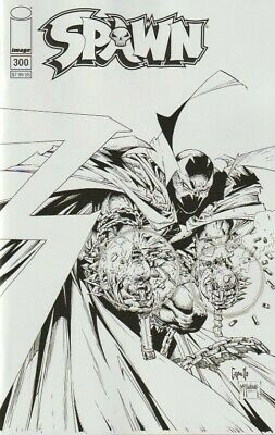 Spawn #300 (2019) Cover F McFarlane and Capullo B&W VF/NM or better