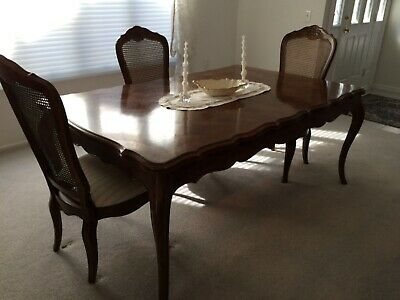 THOMASVILLE DINING ROOM set, w/6 Chairs, Buffet, Server ...