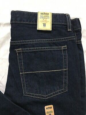 Urban Pipeline Jeans Boys Size 18 Reg Relaxed Fit Straight Leg Low Rise NWT
