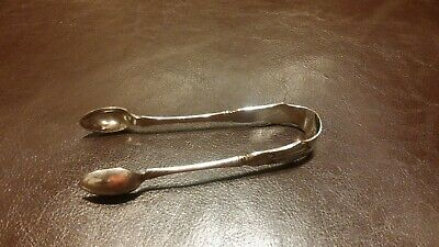 Vintage Lovely Antique Silver Plated Epns - Spoon Sugar Tongs