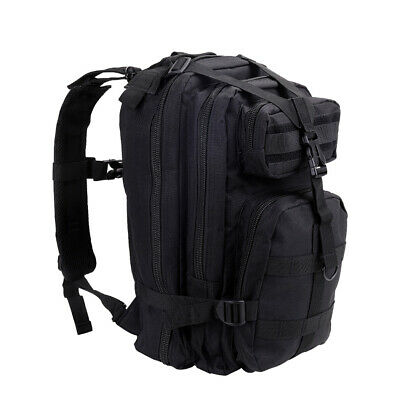 Military Tactical Backpack Hydration Backpack Army Molle Bag Outdoor Trekking UK