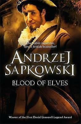 Blood of Elves (The Witcher), Andrzej Sapkowski, New Book