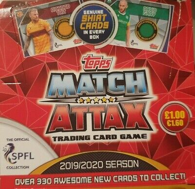 Topps Match Attax 2019/20 Spfl Premier Club Badge Star Player Base Number 1 -216