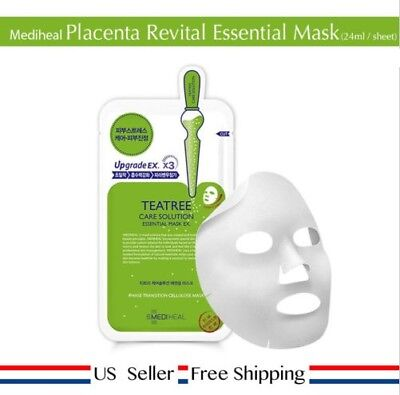 Mediheal Teatree Care Solution Essential Mask1 ~ 10 sheets CHOOSE QUANTITY