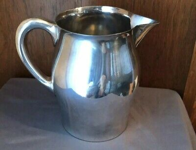 REED & BARTON Pitcher Silver Plate Silverplate Paul Revere Style # 5662 48 Oz