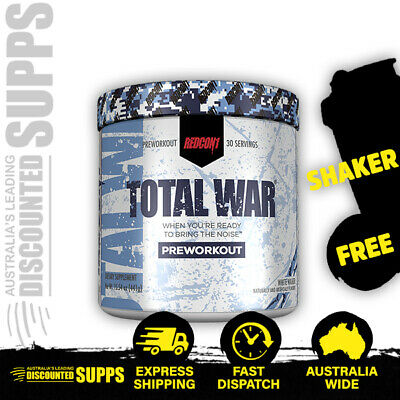 RedCon1 Total War Pre-Workout | FREE Shaker & Shipping