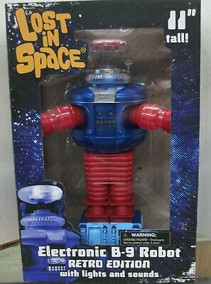 Lost In Space B-9 (Retro Edition) Electronic Robot Action Figure - 2019