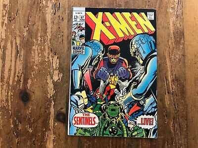 X-Men # 57 June 1969 | The Sentinels | Neal Adams Cover | Silver Age Marvel X