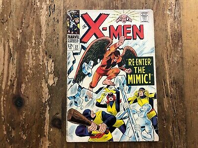 The X-Men #27 1966 Marvel Comics Silver Age Comic Roy Thomas Werner Roth MIMIC B